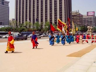 Wachablösung in Seoul