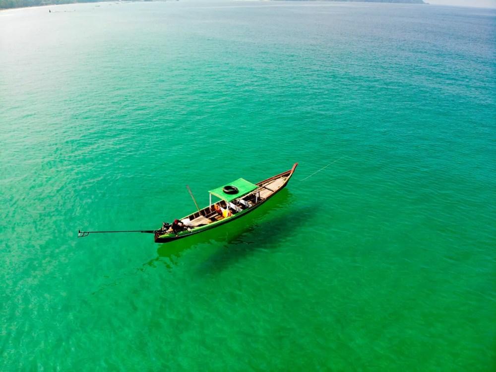 Bootstour auf Ngapali Beach