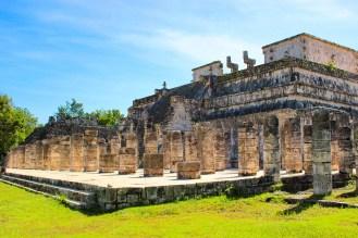 Kriegertempel in Chichén Itzá