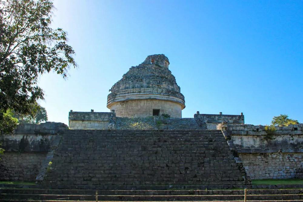Das Observatorium in Chichen Itza