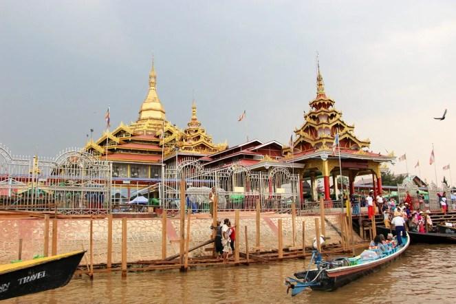 Phaung Daw U Pagode am Inle-See