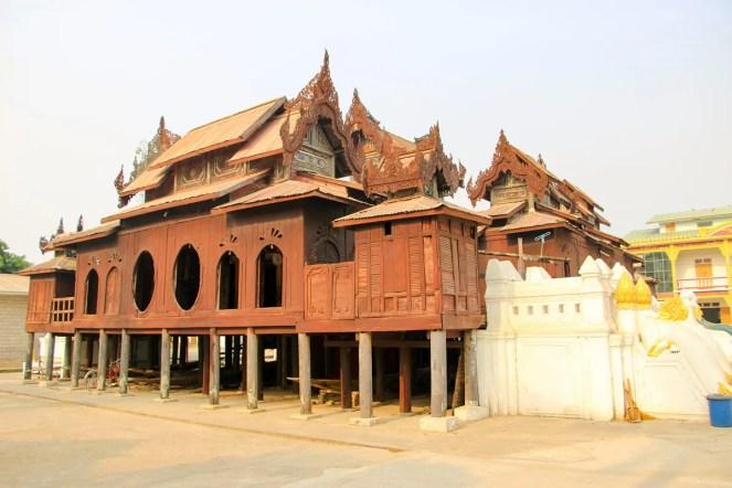 Shwe Yan Pyay Kloster in Nyaung Shwe