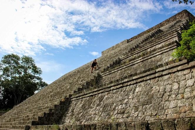 Uxmal Grosse Pyramide
