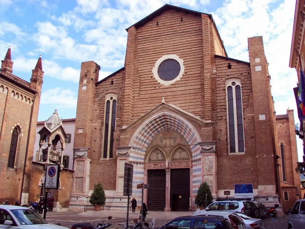 Kirche Sant'Anastasia in Verona