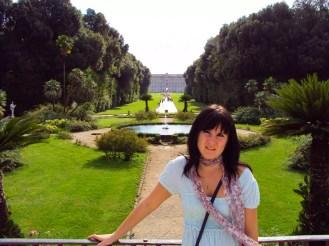 Park Palast von Caserta