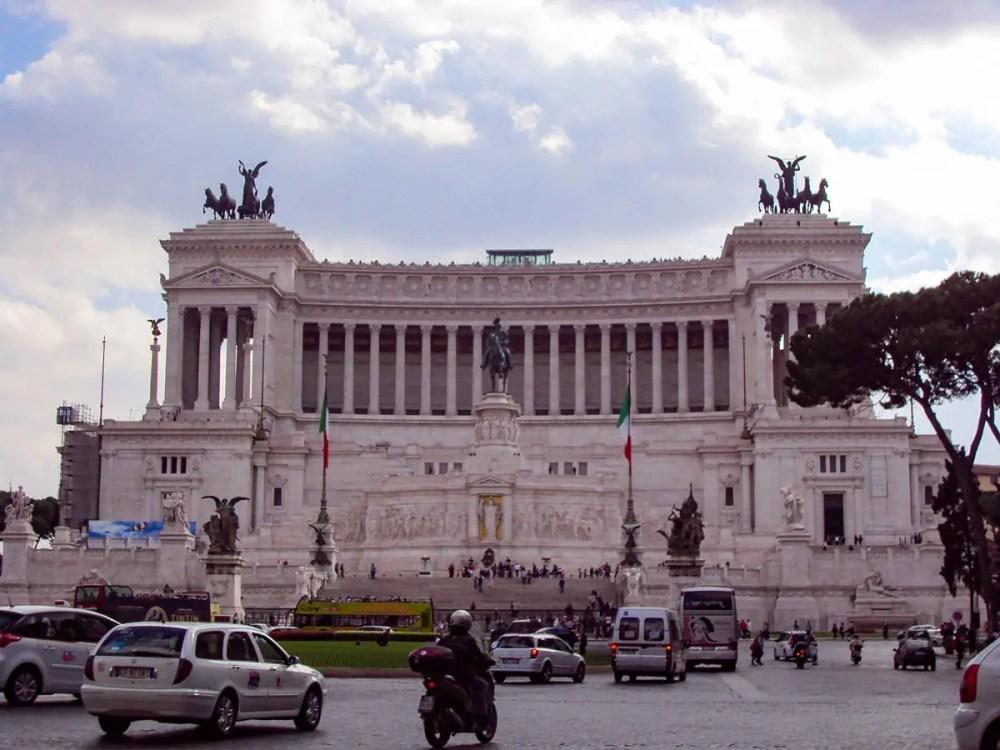Piazza Venezia in Rom