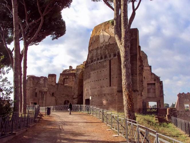 Terme Severiane (Domus Severiana) auf dem Palatin Hügel