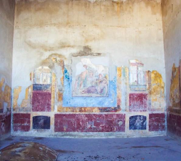 Wandmalerei in Stabiae