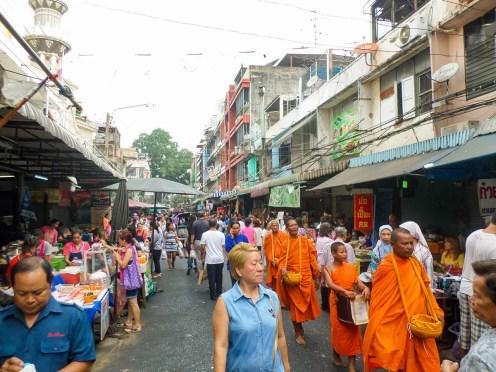 Morgenmarkt in Silom Bangkok