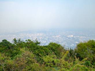 Aussicht Wat Phra That Doi Suthep