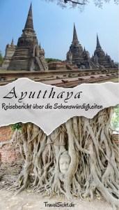 Ayutthaya Thailand Sehenswuerdigkeiten