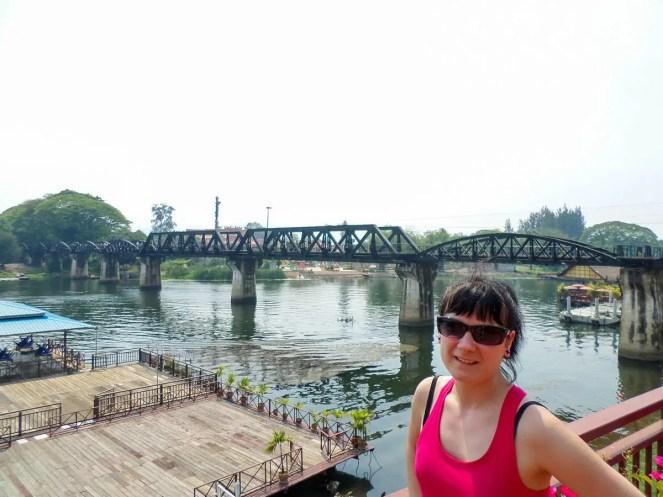 Brücke am Kwai in Thailand