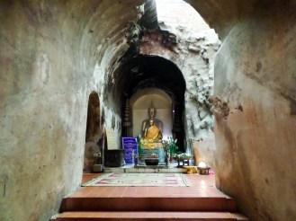 Buddha im Wat Umong