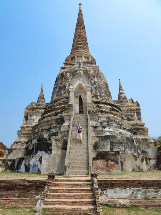 Chedi in Ayutthaya