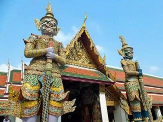 Große Dämonwächter in Wat Phra Kaeo