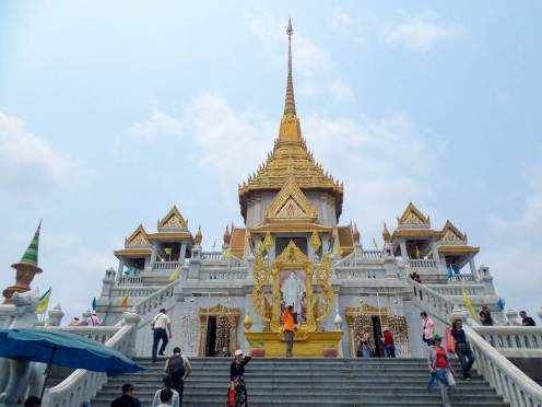 Goldener Buddha Tempel in Bangkok