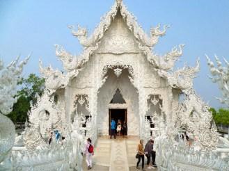 Hauptgebäude Tempel Chiang Rai