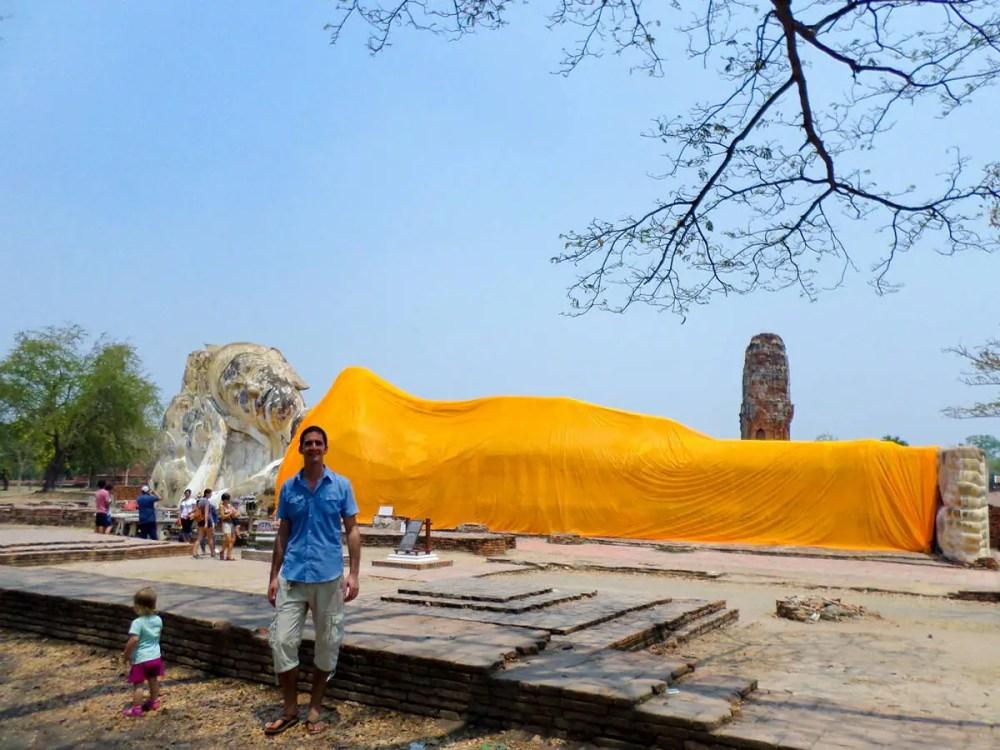Ayutthaya Liegender Buddha