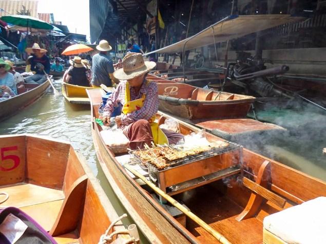 Damnoen Saduak Schwimmender Markt