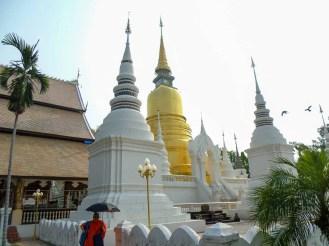 Wat Suan Dok in Chiang Mai