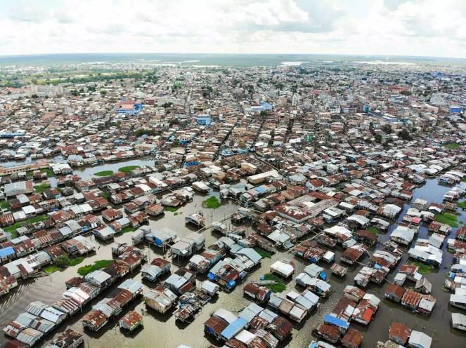Belén Iquitos Luftaufnahme