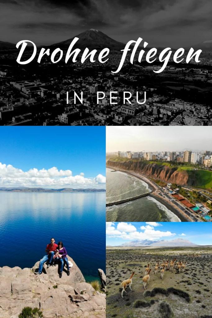 Peru mit der Drohne