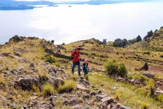 Trekking auf Amantani