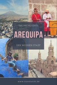 Arequipa Highlights