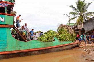 Bananen Transport Nauta Peru