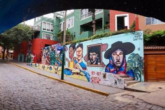 Barranco Stadtviertel