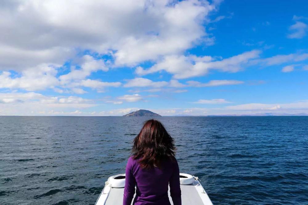 Bootsfahrt zu Taquile