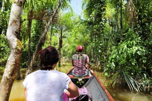 Bootstour im Amazonas Dschungel