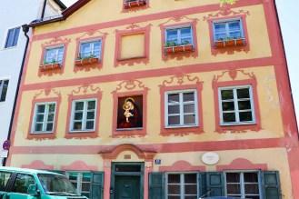 Bürgerhaus aus dem Jahre 1730 in Eichstätt