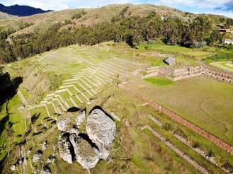 Chinchero Inka Ruinen