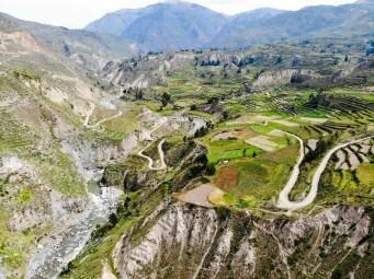 Colca-Tal in Peru