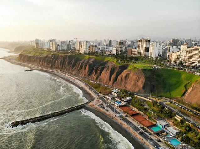 Costa Verde in Lima