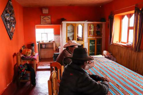 Esszimmer des Homestays