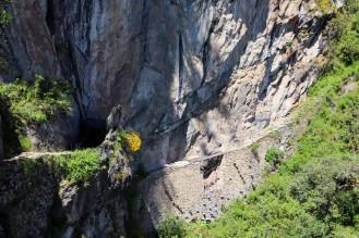Inka Brücke Machu Picchu