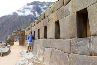 Inka Ruinen von Ollantaytambo