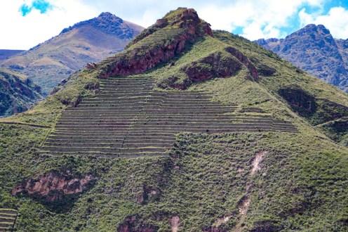 Inka Terrassen bei Pisaq