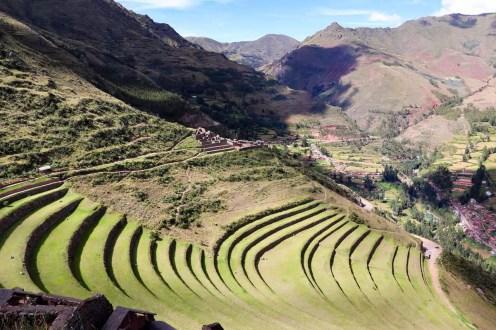 Große Inka-Terrassen von Pisac