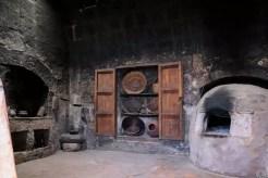 Eine Küche im Santa Catalina