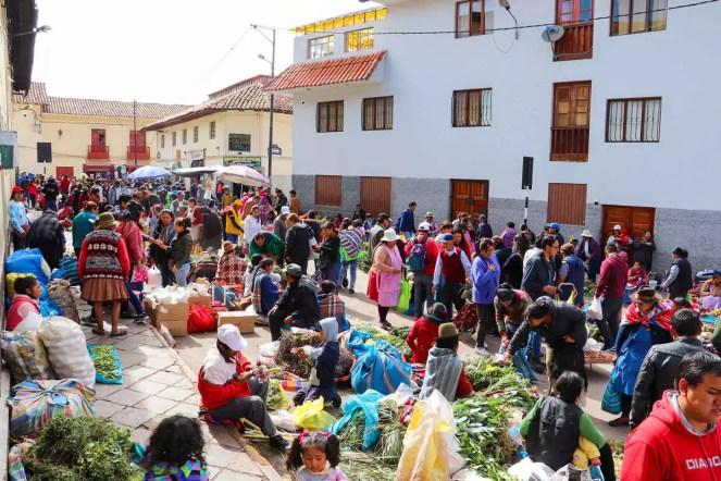 Mercado Central de San Pedro in Cusco