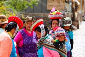 Die Nachfahren der Inkas in Ollantaytambo