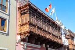 Palacio de Torre Tagle in Lima