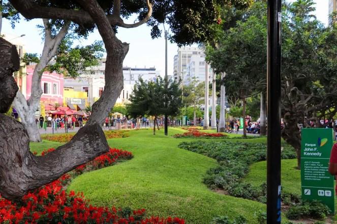 Parque Kennedy in Lima