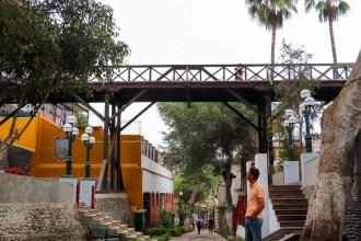 Puente de Los Suspiros in Lima