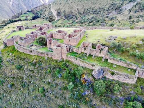 Pumamarka Ruinen in Ollantaytambo