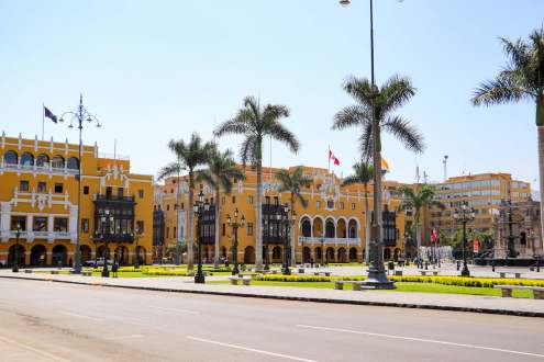 Stadtpalast in Lima