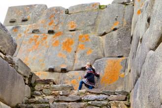 Große Steine in Ollantaytambo